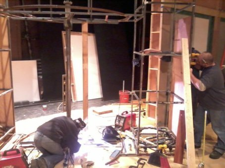 building a rotating door