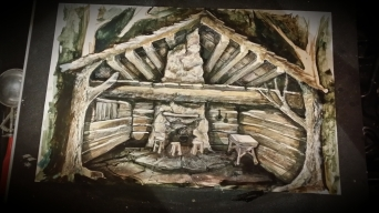 Hillbillies shedd house